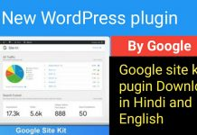 Google site kit plugin Download in Hindiand English